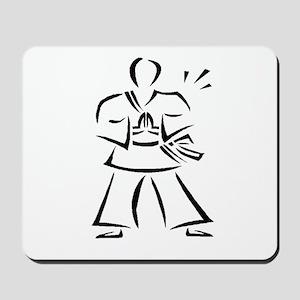 Martial Arts - Karate Time ! Mousepad