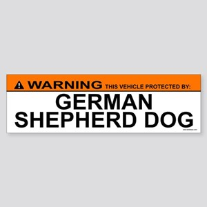 GERMAN SHEPHERD DOG Bumper Sticker