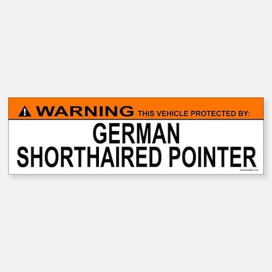 GERMAN SHORTHAIRED POINTER Bumper Bumper Bumper Sticker