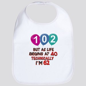 102 years.. but technically younger Bib