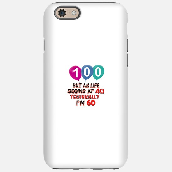 100 years.. but technically iPhone 6/6s Tough Case
