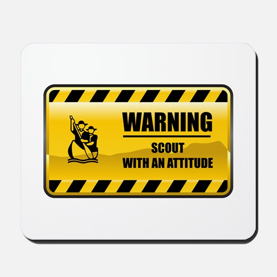 Warning Scout Mousepad