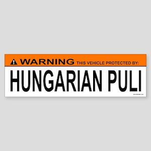 HUNGARIAN PULI Bumper Sticker