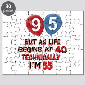95 years.. but technically younger Puzzle