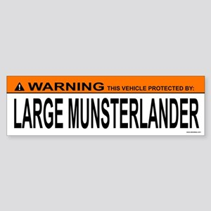 LARGE MUNSTERLANDER Bumper Sticker