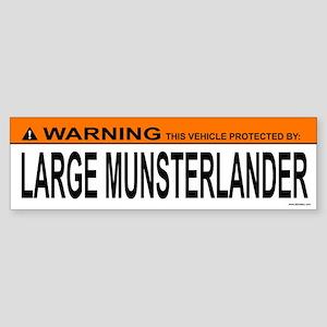 LARGE MUNSTERLANDER Bumper Sticker