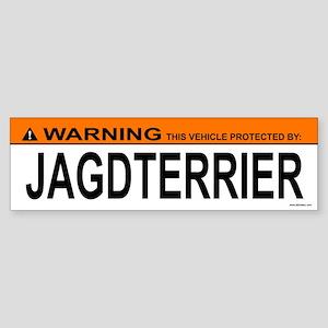 JAGDTERRIER Bumper Sticker
