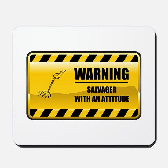 Warning Salvager Mousepad