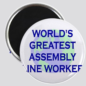 World's Greatest Assembly Lin Magnet