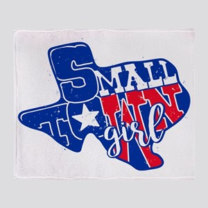 Small Town Girl Throw Blanket