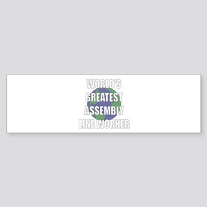 World's Greatest Assembly Lin Bumper Sticker