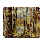 Wood by the Lake Mousepad