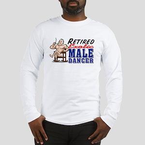 RETIRED MALE DANCER Long Sleeve T-Shirt