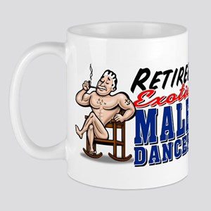RETIRED MALE DANCER Mug
