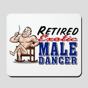 RETIRED MALE DANCER Mousepad