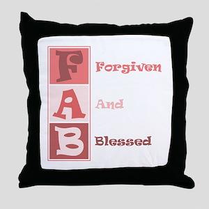 FAB Christian Design Throw Pillow
