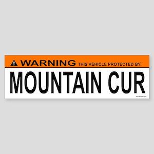 MOUNTAIN CUR Bumper Sticker