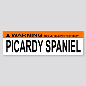 PICARDY SPANIEL Bumper Sticker