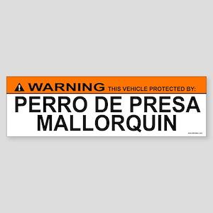 PERRO DE PRESA MALLORQUIN Bumper Sticker