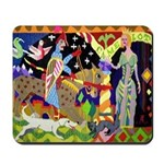 Lancelot and Guinevere Tapestry Mousepad