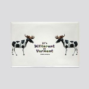 Vermont Moose Rectangle Magnet
