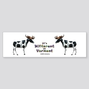 Vermont Moose Bumper Sticker