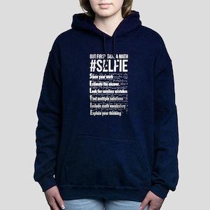 Take a Math Selfie - Mat Women's Hooded Sweatshirt
