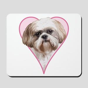 Heart Shih Tzu -  Mousepad