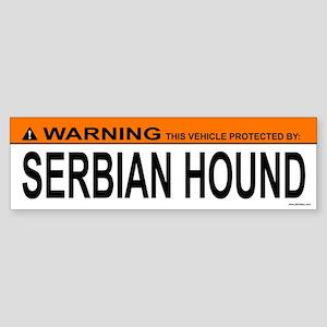 SERBIAN HOUND Bumper Sticker