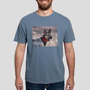 German Shepherd Posing Mens Comfort Colors Shirt