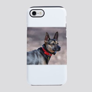 German Shepherd Posing iPhone 8/7 Tough Case