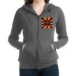 Orange GFUT Women's Zip Hoodie