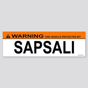 SAPSALI Bumper Sticker