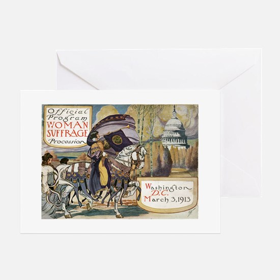 Woman Suffrage Procession Greeting Card