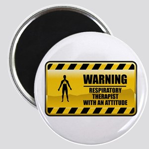 Warning Respiratory Therapist Magnet