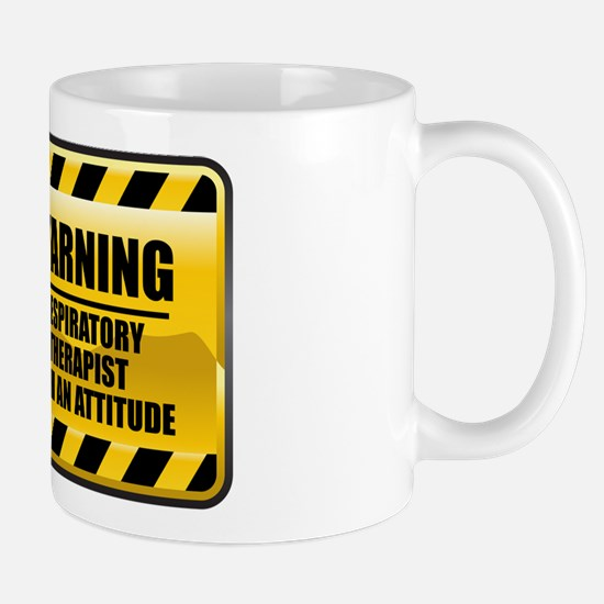 Warning Respiratory Therapist Mug
