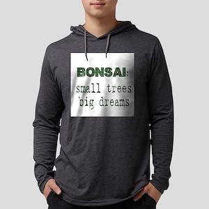 CafePressSmallTreesBigDreams Mens Hooded Shirt
