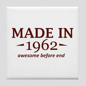 Made In 1962 Tile Coaster
