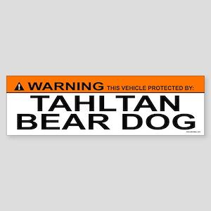 TAHLTAN BEAR DOG Bumper Sticker