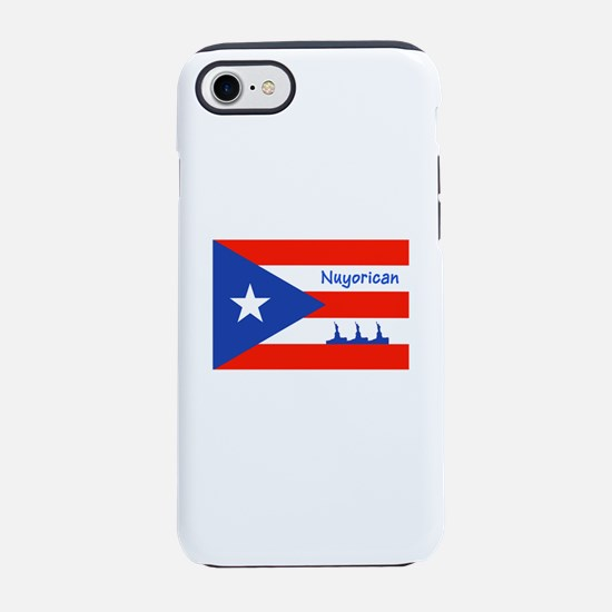 Nuyorican Statue of Liberty iPhone 8/7 Tough Case