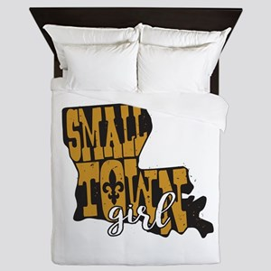 Small Town Girl Louisiana Queen Duvet
