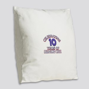 35 Not in A Million Years Burlap Throw Pillow