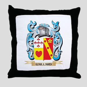 Gaillard Coat of Arms - Family Crest Throw Pillow