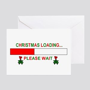 CHRISTMAS LOADING... Greeting Card
