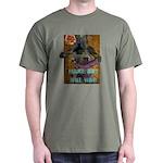 MAKE ART NOT WAR Dark T-Shirt