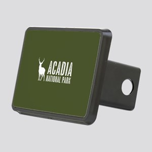 Deer: Acadia National Park Rectangular Hitch Cover