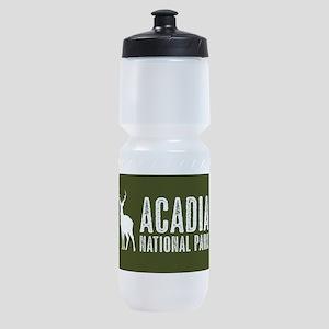 Deer: Acadia National Park, Maine Sports Bottle