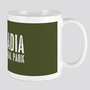 Deer: Acadia National Park, Main 11 oz Ceramic Mug
