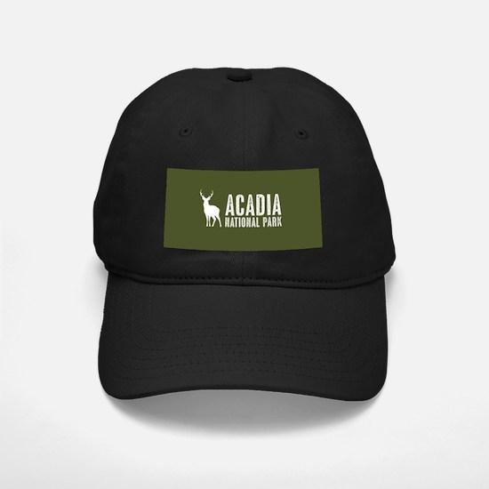 Deer: Acadia National Park, M Baseball Hat