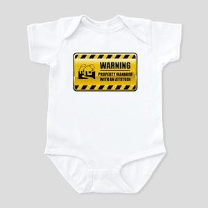 Warning Property Manager Infant Bodysuit